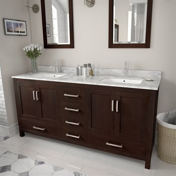 Sheffield 72 double bathroom vanity by wyndham collection espresso free shipping modern for Sheffield 72 double bathroom vanity