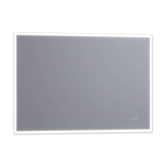 "Luxaar Lucent 60 "" x 36 "" Wall Mounted LED Vanity Mirror with Color Changer, Dimmer and Defogger LEDCM6036"