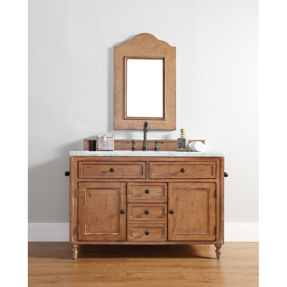 "James Martin 48"" Copper Cove Single Vanity - Driftwood Patinanohtin Sale $1670.00 SKU: 300-V48-DRP :"