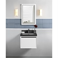 "Fairmont Designs M4 24"" Wall Mount Vanity - Glossy White 1525-WV24"