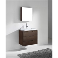 "Madeli Bolano 30"" Bathroom Vanity - Walnut B100-30-002-WA"
