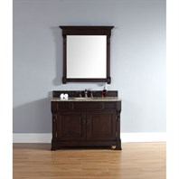"James Martin 48"" Brookfield Single Cabinet Vanity - Burnished Mahogany 147-114-5261"