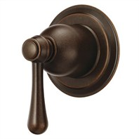 Danze Opulence Trim Only 4-Port Shower Diverter/Volume Control Valve - Tumbled Bronze D560957BRT