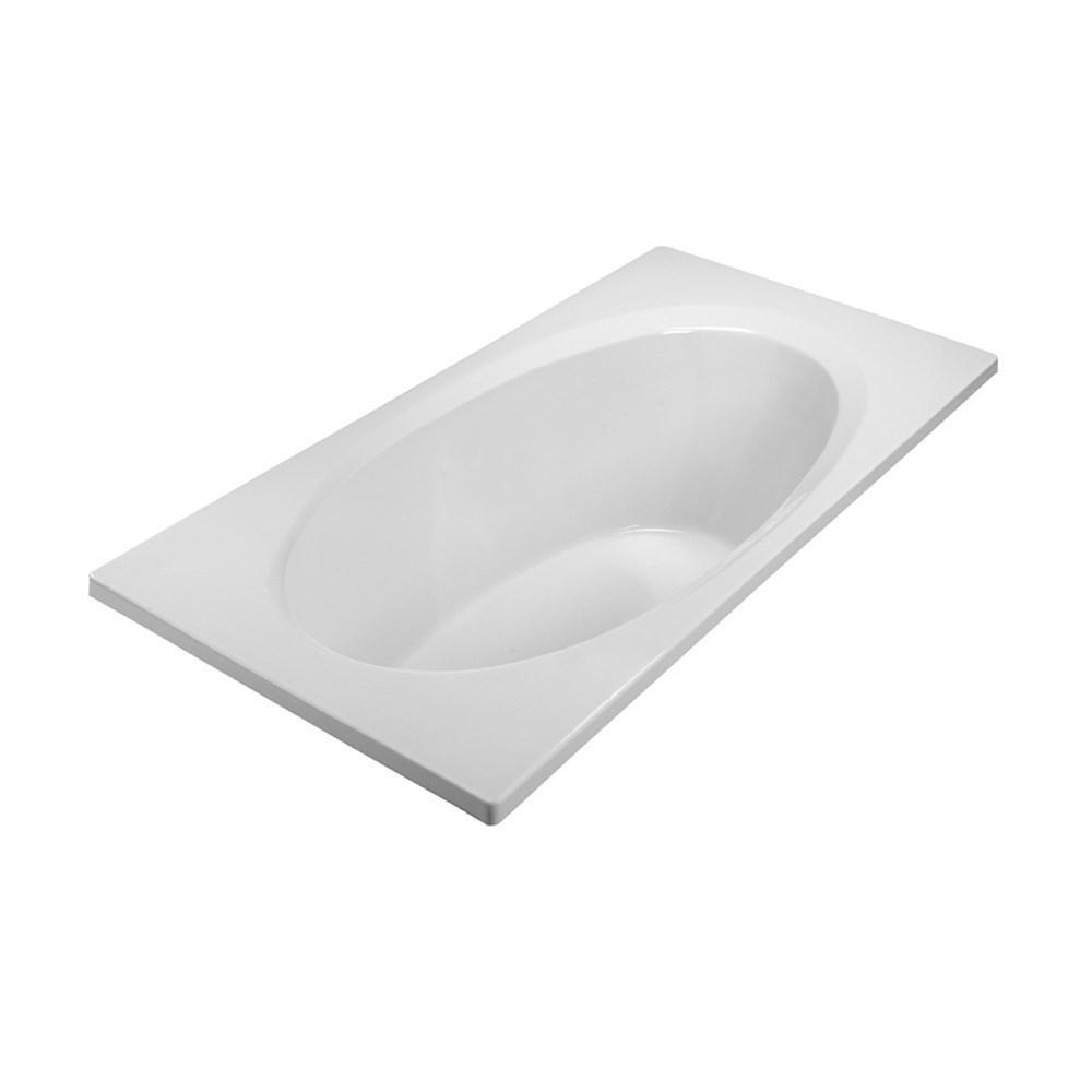 "MTI Basics Bathtub (71.75"" x 35.75"" x 19.75"")nohtin Sale $1096.00 SKU: MBRO7236E :"