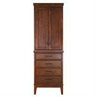 "Avanity Madison 24"" Linen Tower - Tobacco MADISON-LT24-TO"