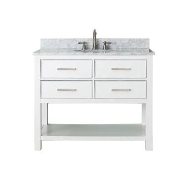 "Avanity Brooks 42"" Single Bathroom Vanity, White BROOKS-42-WT by Avanity"