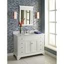 "Fairmont Designs Framingham 48"" Vanity - Polar White 1502-V48"