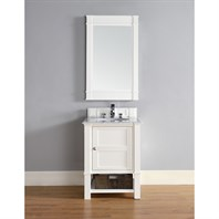 "James Martin 26"" Madison Single Vanity - Cottage White 800-V26-CWH"