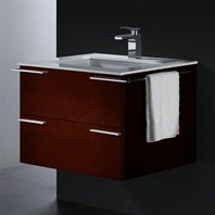 Vigo 31-inch Single Bathroom Vanity - Red Oak VG09003106K1