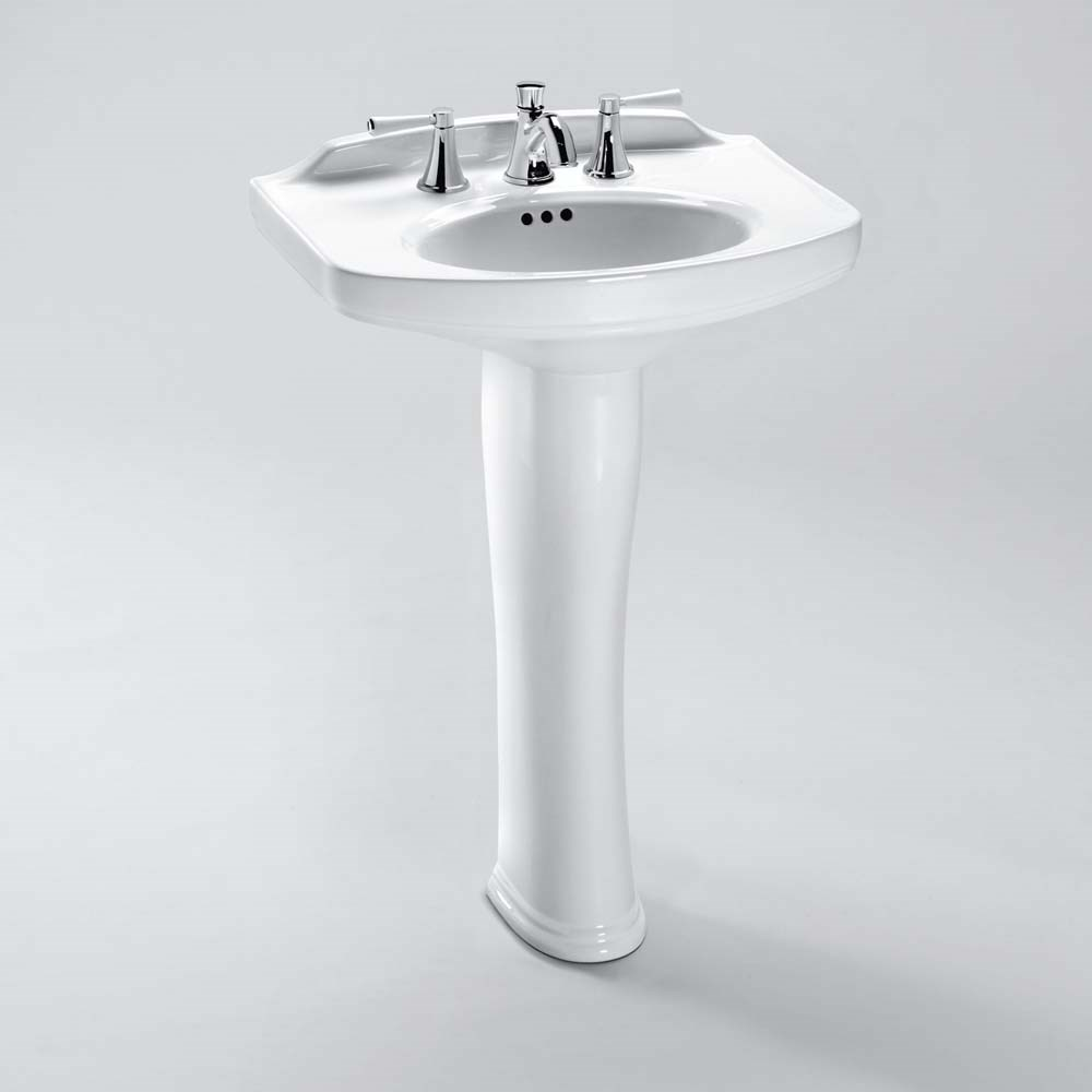 TOTO Dartmouth® Pedestal Lavatory | Free Shipping - Modern Bathroom