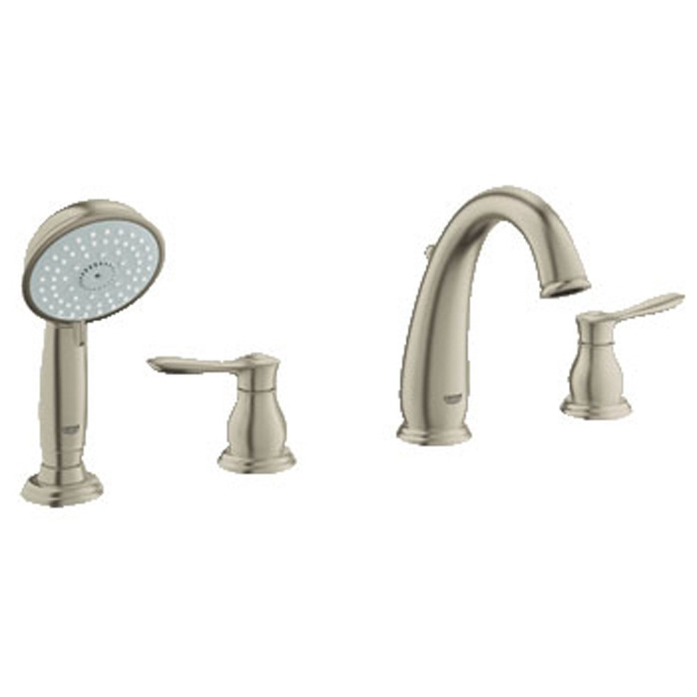 Grohe Parkfield 4-Hole Roman Tub Combination - Brushed Nickelnohtin Sale $800.99 SKU: GRO 25153EN0 :
