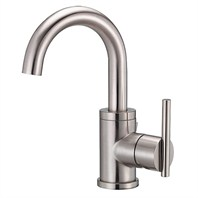 Danze® Parma™ Single Handle Lavatory Faucet, Tall - Brushed Nickel D220558BN