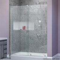 Bath Authority DreamLine Mirage-X 44 - 60 in. W x 72 in. H Sliding Shower Door SHDR-1948723