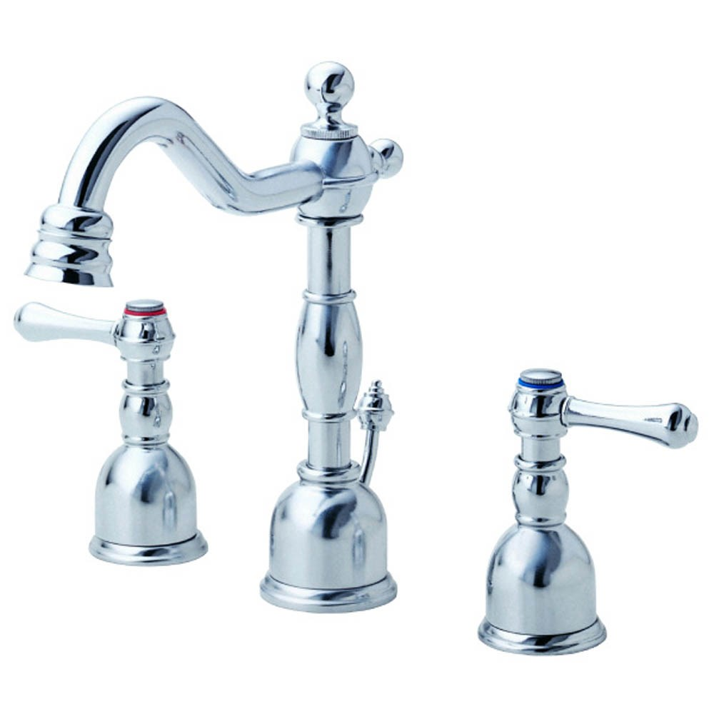 Danze Opulence 2H Mini-Widespread Lavatory Faucet w/ Metal Touch Down Drain 1.2gpm - Chromenohtin Sale $275.25 SKU: D303157 :
