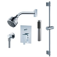 fluid Viola - Handheld Shower Trim Set with Slide Bar F1254T