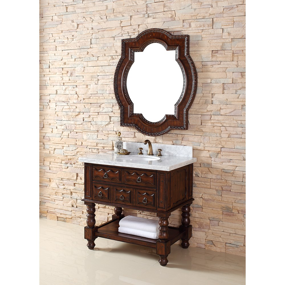 "James Martin 36"" Castilian Single Vanity - Aged Cognac 160-V36-ACG"