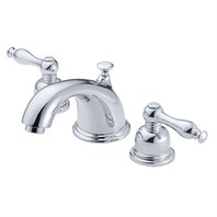 Danze® Sheridan™ Widespread Lavatory Faucets - Chrome D304155