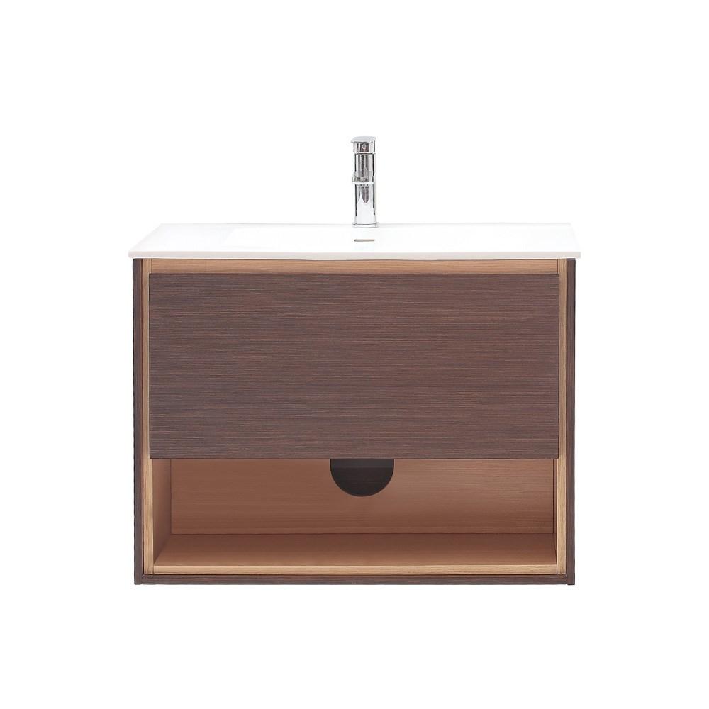 "Avanity Sonoma 31"" Wall-Mounted Single Bathroom Vanity - Iron Woodnohtin Sale $748.00 SKU: SONOMA-31-IW :"
