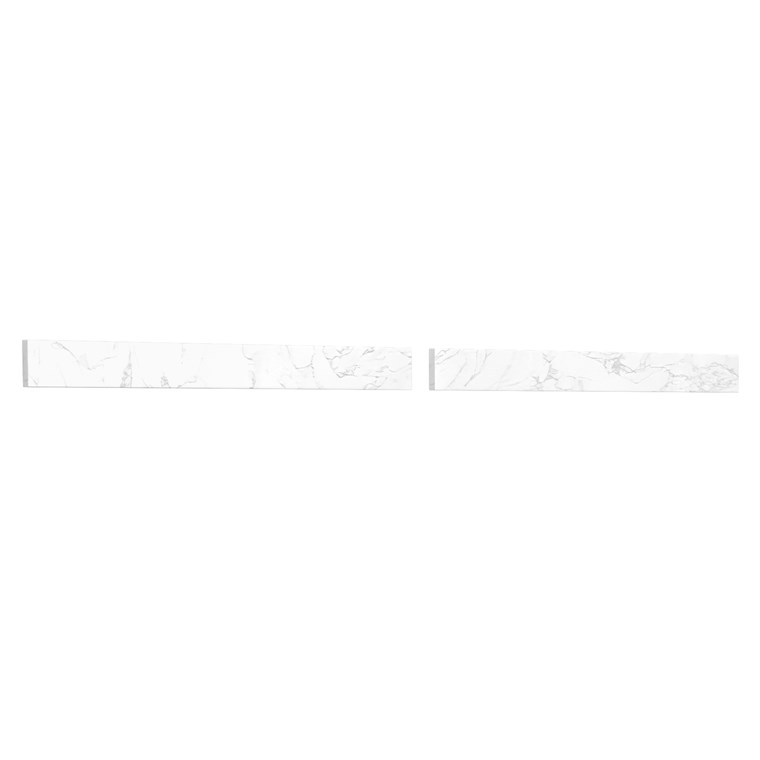 "Replacement 60"" Backsplash - Dark-Vein Carrara Cultured Marble REPL-WC-VCA-60-BS-CC1"