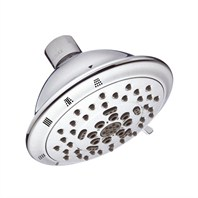 "Danze Florin 4 1/2"" Five-Function Showerhead 2.5 GPM - Chrome D460036"