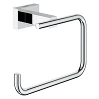 Grohe Essentials Cube Toilet Paper Holder - Chrome GRO 40507000