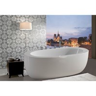 Aquatica PureScape 174A Freestanding Acrylic Bathtub - White Aquatica PS174A