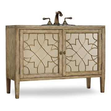 """Cole & Co. 52"""" Designer Series Collection Lindsay Vanity, Antiqued Parchment 11.22.275552.13 by Cole & Co."""