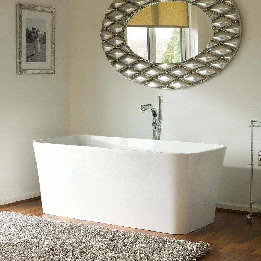 Edge Bathtub by Victoria and Albert EDG-N-SW-OF (C5014)