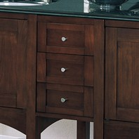 Fairmont Designs Lifestyle Collection Shaker Drawer Bridge - Warm Cherry