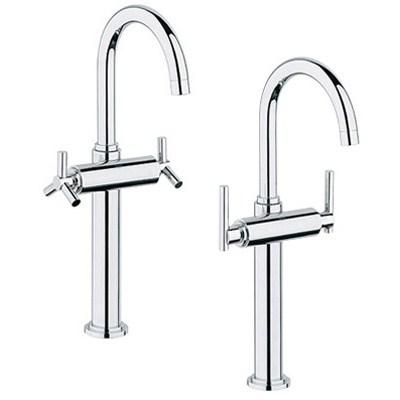 Grohe Atrio Deck-Mount Vessel Faucet - Starlight Chromenohtin Sale $620.99 SKU: GRO 21046000 :