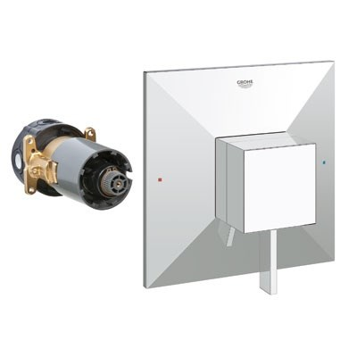 Grohe GrohFlex Allure Brilliant Single Function Pressure Balance Trim with Control Module - Starlight Chrome GRO 19790000