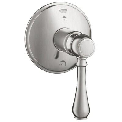 Grohe Geneva 3-Port Diverter Trim - Infinity Brushed Nickelnohtin Sale $271.99 SKU: GRO 19220EN0 :