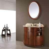 "Avanity Oxford 39"" Single Bathroom Vanity - Dark Oak OXFORD-V38-DO"