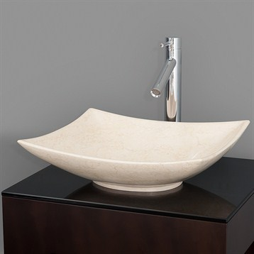 Superbe Arista Vessel Sink By Wyndham Collection   Ivory Marble | Free Shipping    Modern Bathroom