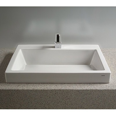 TOTO Kiwami™ Renesse™ Design I Vessel Lavatory w/ CeFiONtect - Cotton Whitenohtin Sale $1821.00 SKU: LT171G :