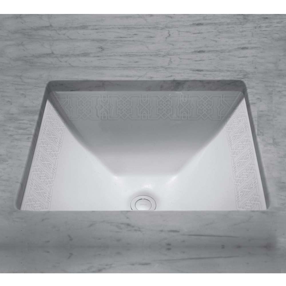 TOTO Waza Tiraz Undercounter Lavatory, 17x15nohtin Sale $860.00 SKU: LT624.01-NC :