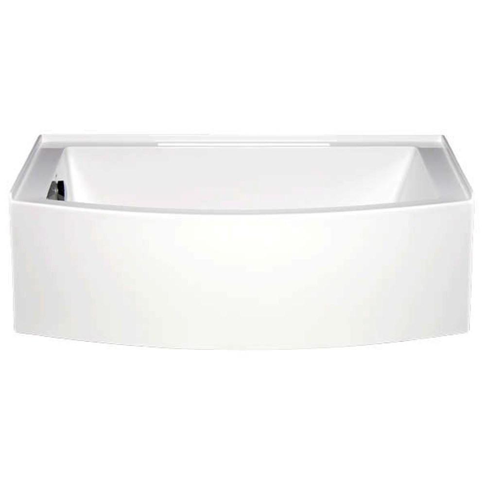 "Americh Mezzaluna 6032 Left Handed Tub (60"" x 32"" x 20"")nohtin Sale $1743.75 SKU: MZ6032L :"