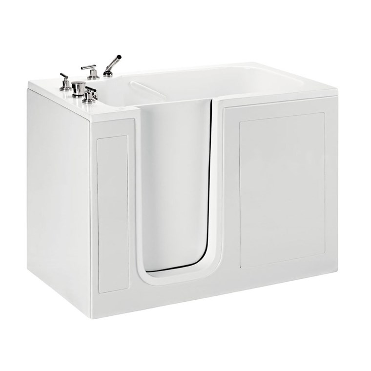 "MTI Basics Walk-In Tub (51.5"" x 30.25"" x 37.5"") MBWI5030"