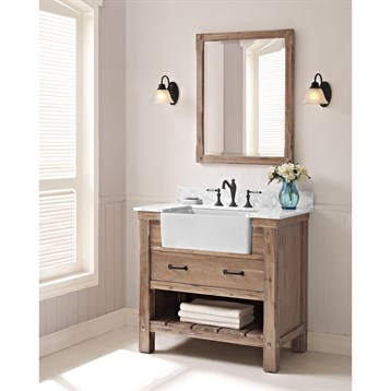 Fairmont Designs Napa 36 Farmhouse Vanity Sonoma Sand Free Shipping Modern Bathroom