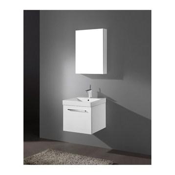 "Madeli Arezzo 20"" Bathroom Vanity, Glossy White B911-20-002-GW by Madeli"