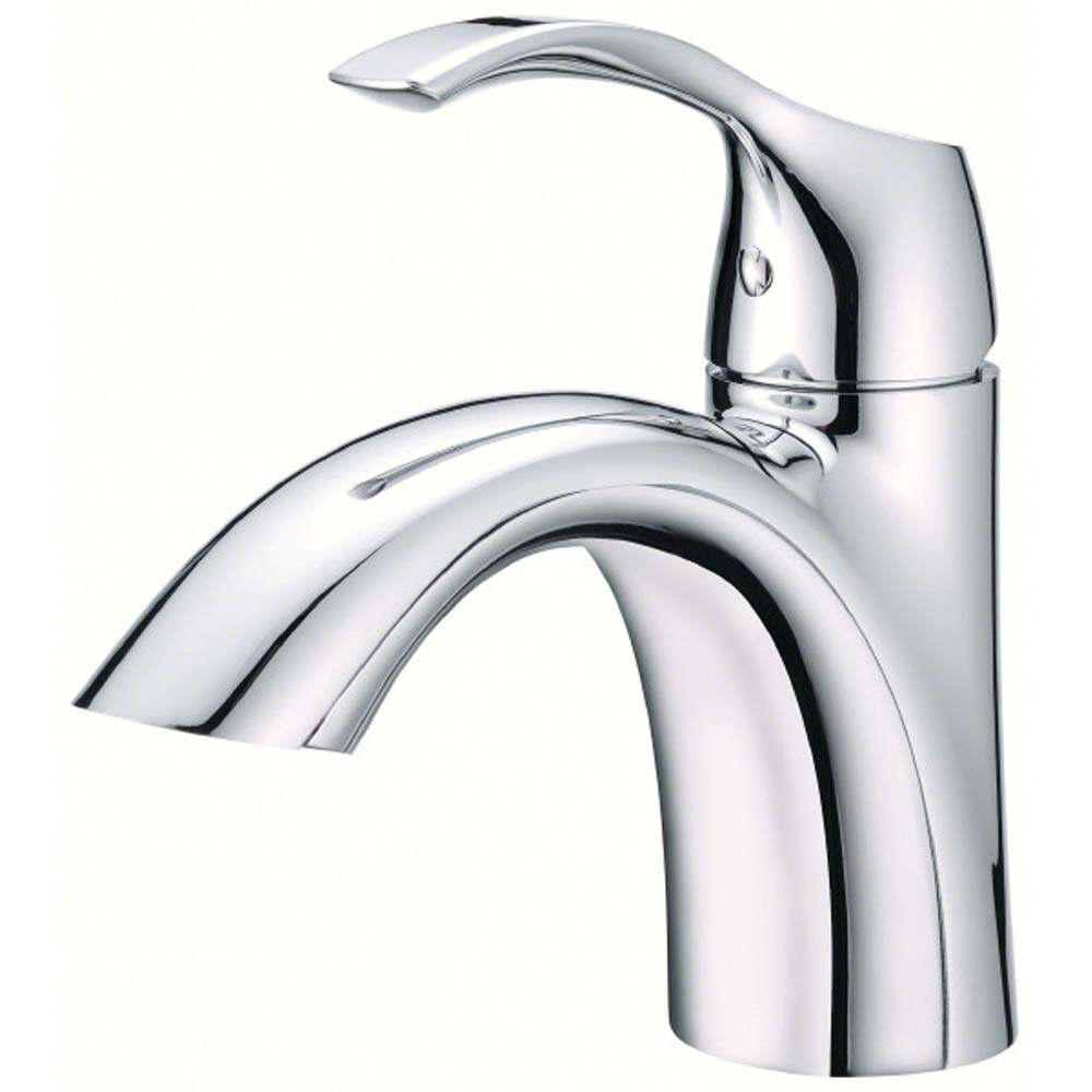Danze Antioch 1H Lavatory Faucet Single Hole Mount w/ 50/50 Touch Down Drain 1.2gpm - Chromenohtin Sale $147.75 SKU: D222522 :