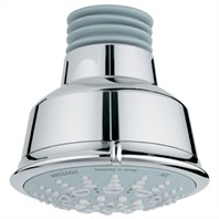 Grohe Relexa Rustic Shower Head - Starlight Chrome