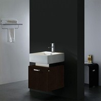 Vigo 18-inch Single Bathroom Vanity - Wenge VG09011104K1