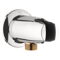 Grohe Wall Union with Hand Shower Holder - Infinity Brushed Nickel