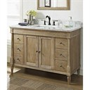 "Fairmont Designs Rustic Chic 48"" Vanity - Weathered Oak 142-V48"