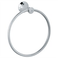 "Grohe Kensington 8"" Towel Ring - Starlight Chrome"