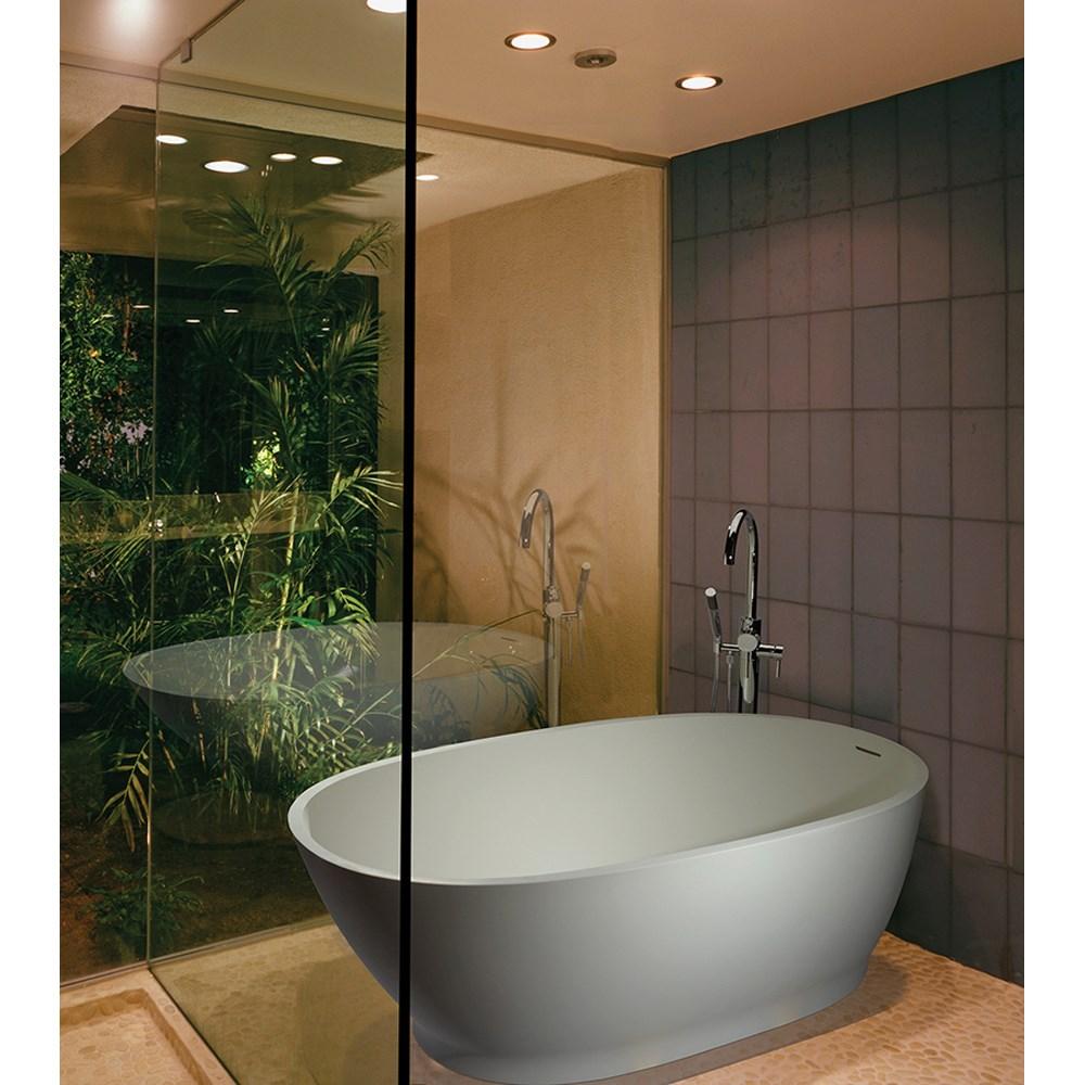 "MTI Lydia 3 Freestanding Tub (55.875"" x 32"" x 21.5"")nohtin Sale $6595.00 SKU: MTCT-200 :"