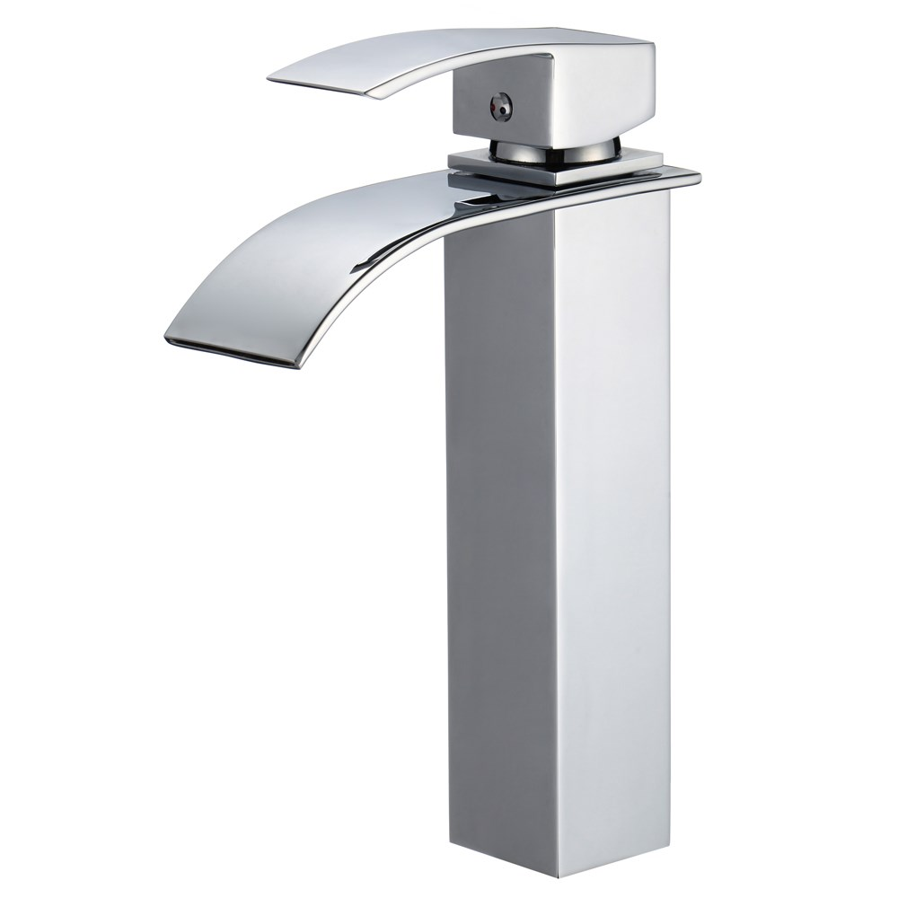Piatti Tall Contemporary Single Hole Bathroom Faucet Free Shipping