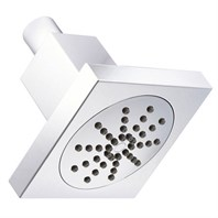 "Danze 4"" Square Single Function Showerhead 2.0 GPM - Chrome D460050"