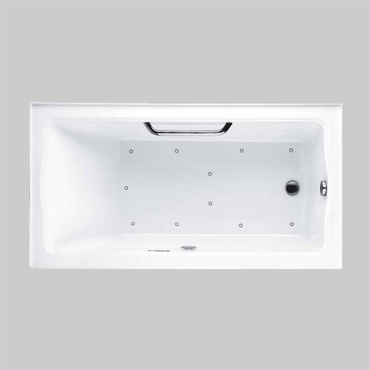 "TOTO Clayton™ Tile-in Air Bath 60"" x 32"" ABR782"